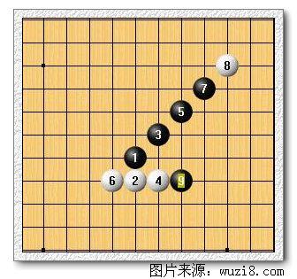 许多五子棋阵法图片