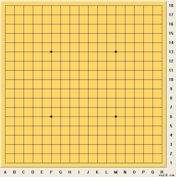 五子棋棋盘高清图片_去除棋盘上的线条