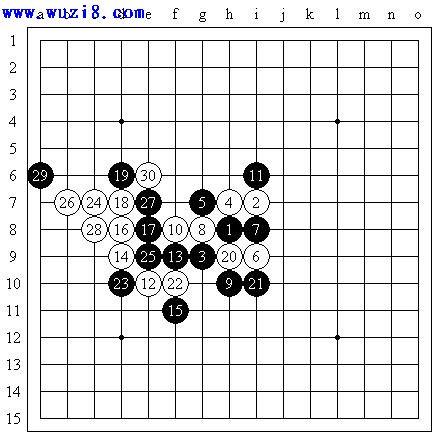 2007年龙潭庙会五子棋比赛棋谱日记(全)图片