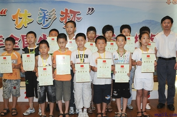2009年全国少儿五子棋锦标赛落幕 沈星涛等夺冠图片