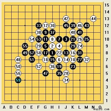 冯小峰:2012年全国五子棋锦标赛自评图片