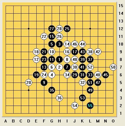 由于他是a组第一,我是b组第四,所以和棋还算他赢,后手对阵世界冠军图片